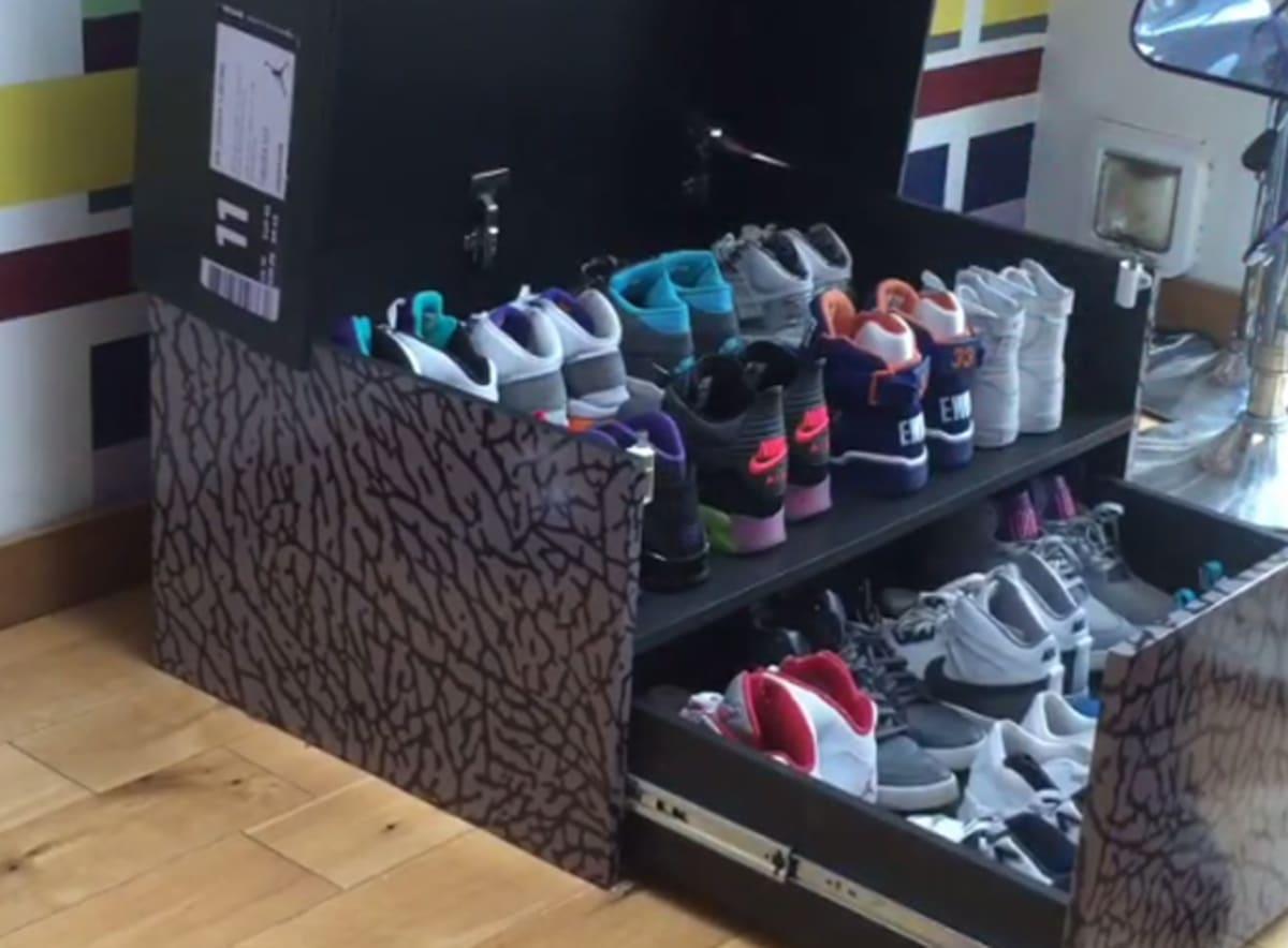 Air Jordan Iii And Nike Sportswear Sneaker Box Storage