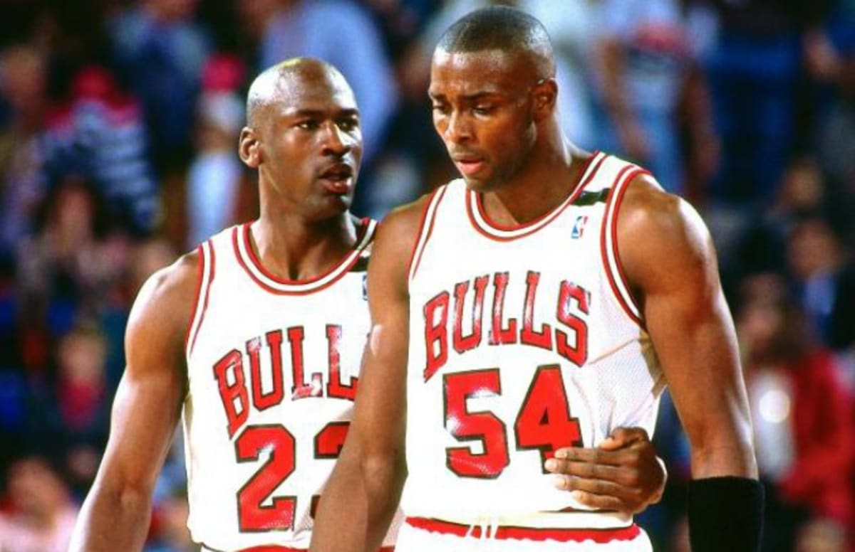 Horace Grant Talks About How Michael Jordan ce Punched Will