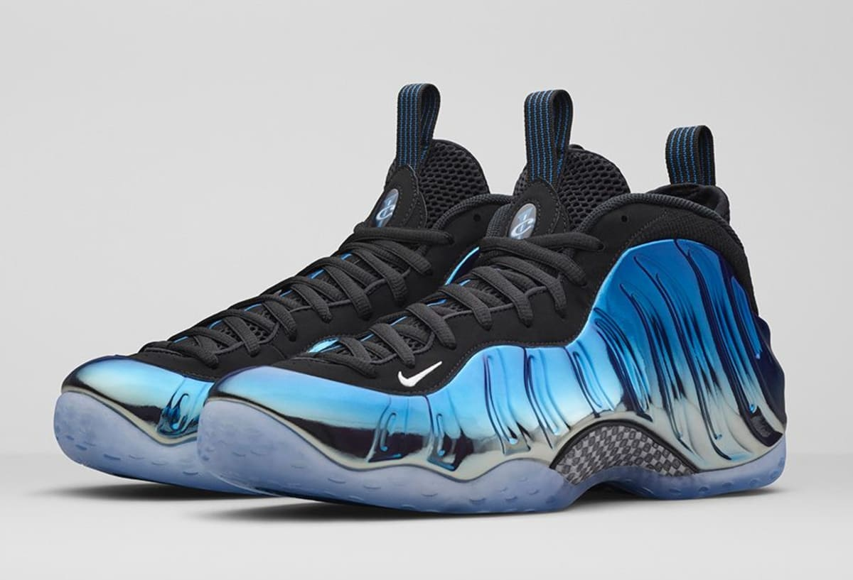 Nike Air Foamposite One Quot Blue Mirror Quot Official Images And