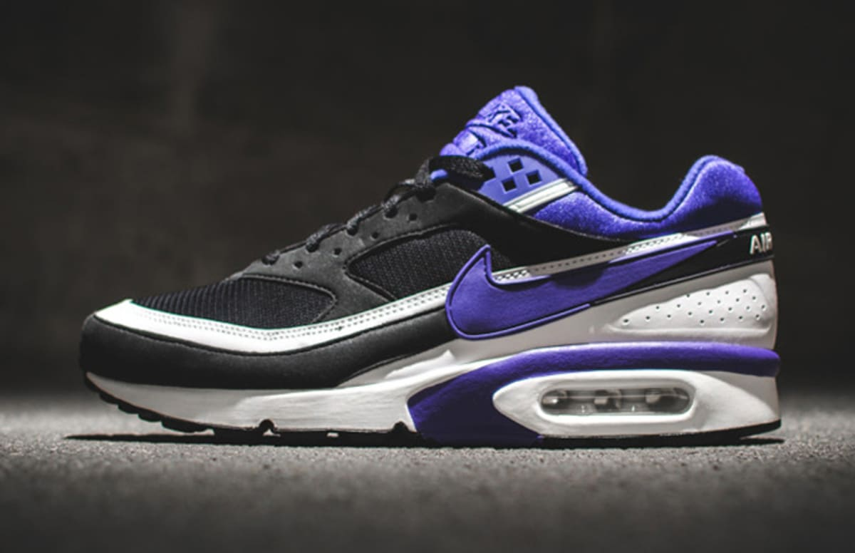 nike air max classic bw persian violet release date complex. Black Bedroom Furniture Sets. Home Design Ideas