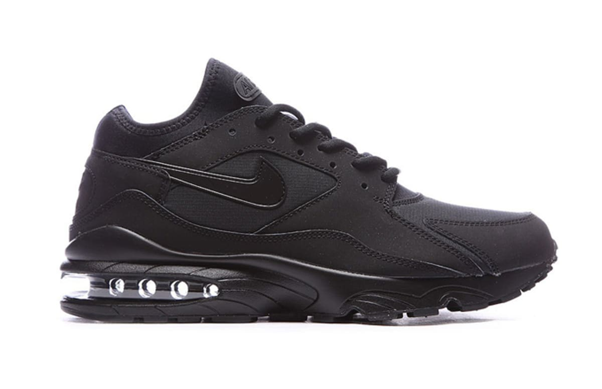 nike air max 93 all black available now complex. Black Bedroom Furniture Sets. Home Design Ideas