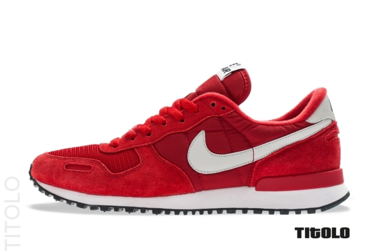 Nike Air Vortex Retro - Gym Red/Neutral Grey-White-Black Top Quality