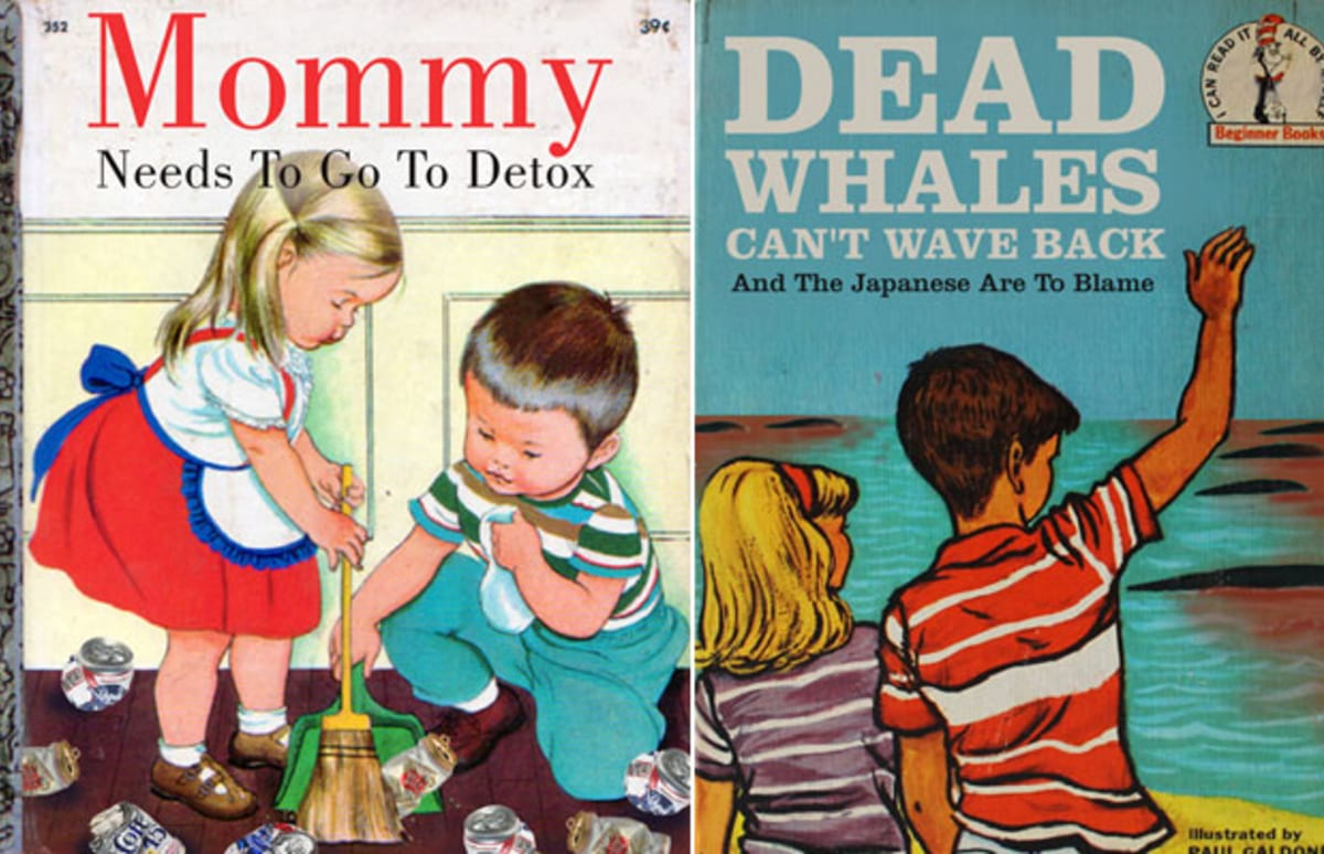 Satirical Parodies Of Classic KidLit Book Covers From The ...