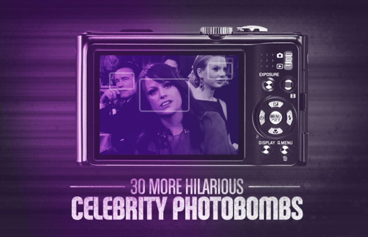 30 Hilarious Celebrity Photobombs | Complex