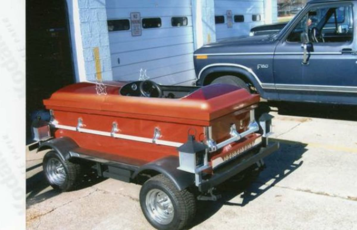 Auto Sale Craigslist: This Coffin Car Is For Sale On Craigslist For $1500