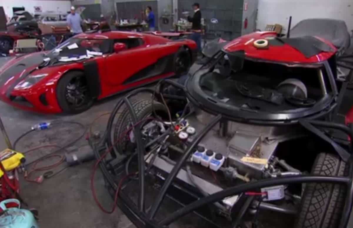 Building Supercar Replicas For Quot Need For Speed Quot Complex