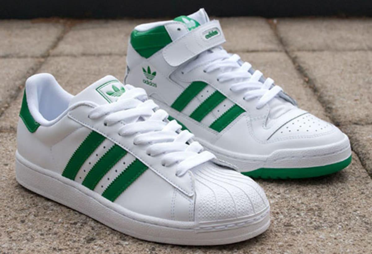 adidas originals superstar ii amp forum mid quotfairway green