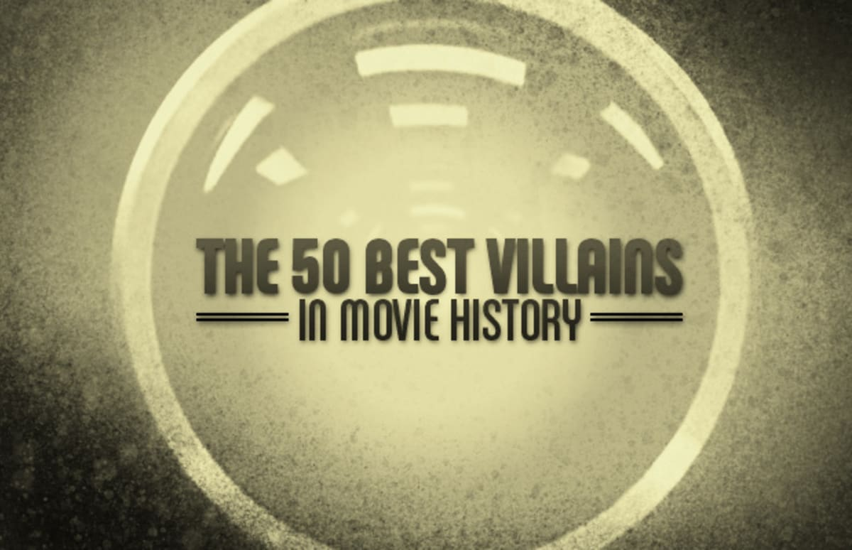 The Best Villains In Movie History Complex - One simple typo changes famous movies forever