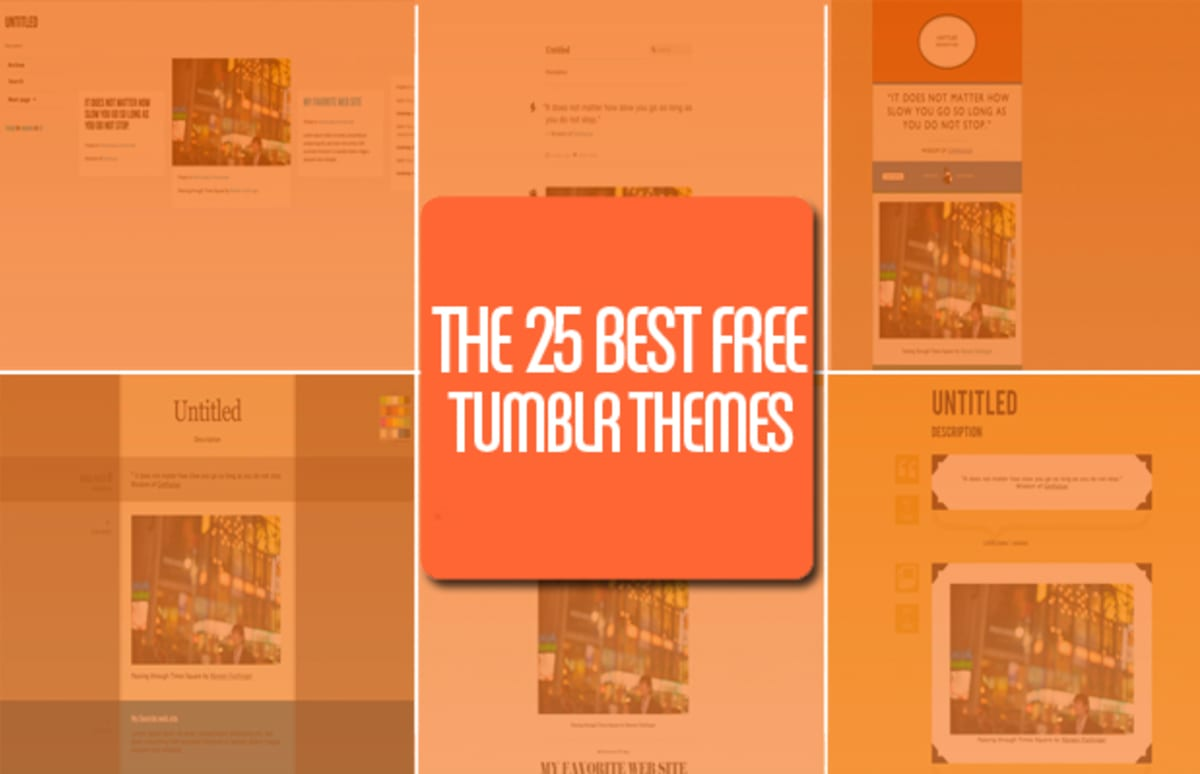 11 strict the 25 best free tumblr themes complex