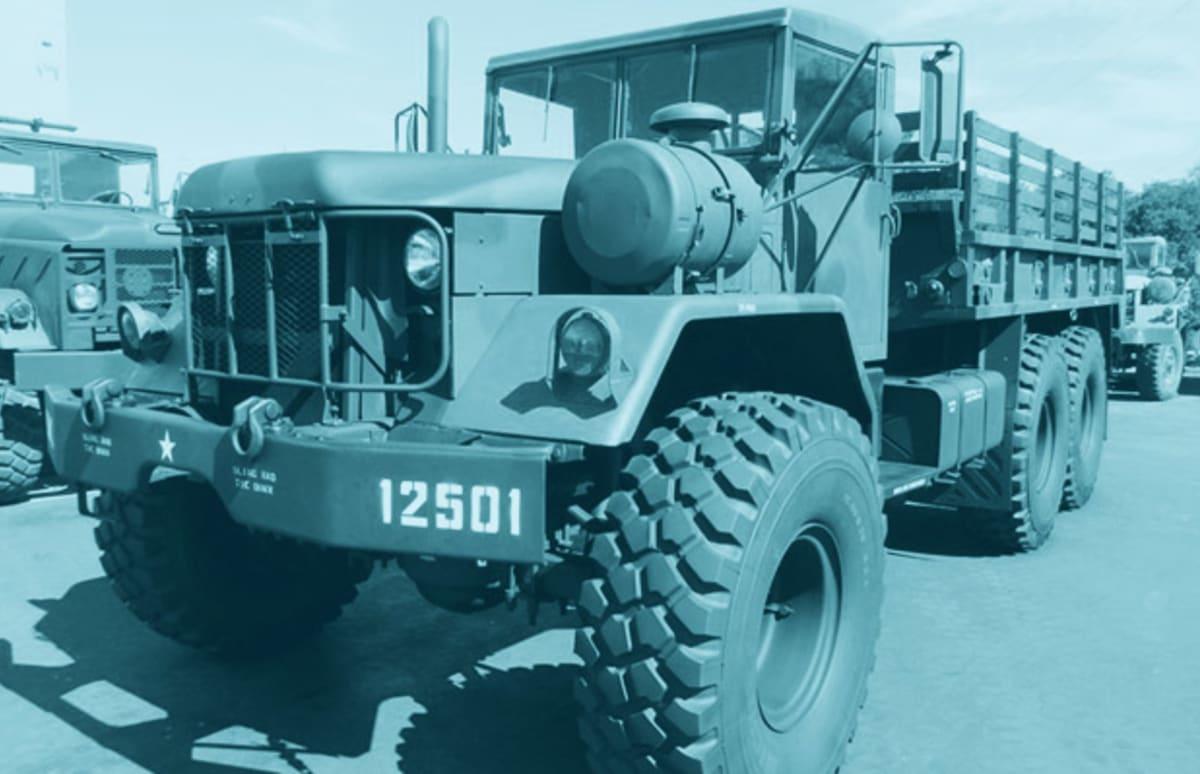 Vehicles For Sale: Vietnam Era LTV Aerospace AATV K.I.D. 8x8 Tracked Vehicle