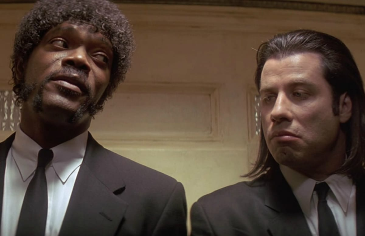pulp fiction essay pixels samuel l jackson says he was harassed by cops during pulp