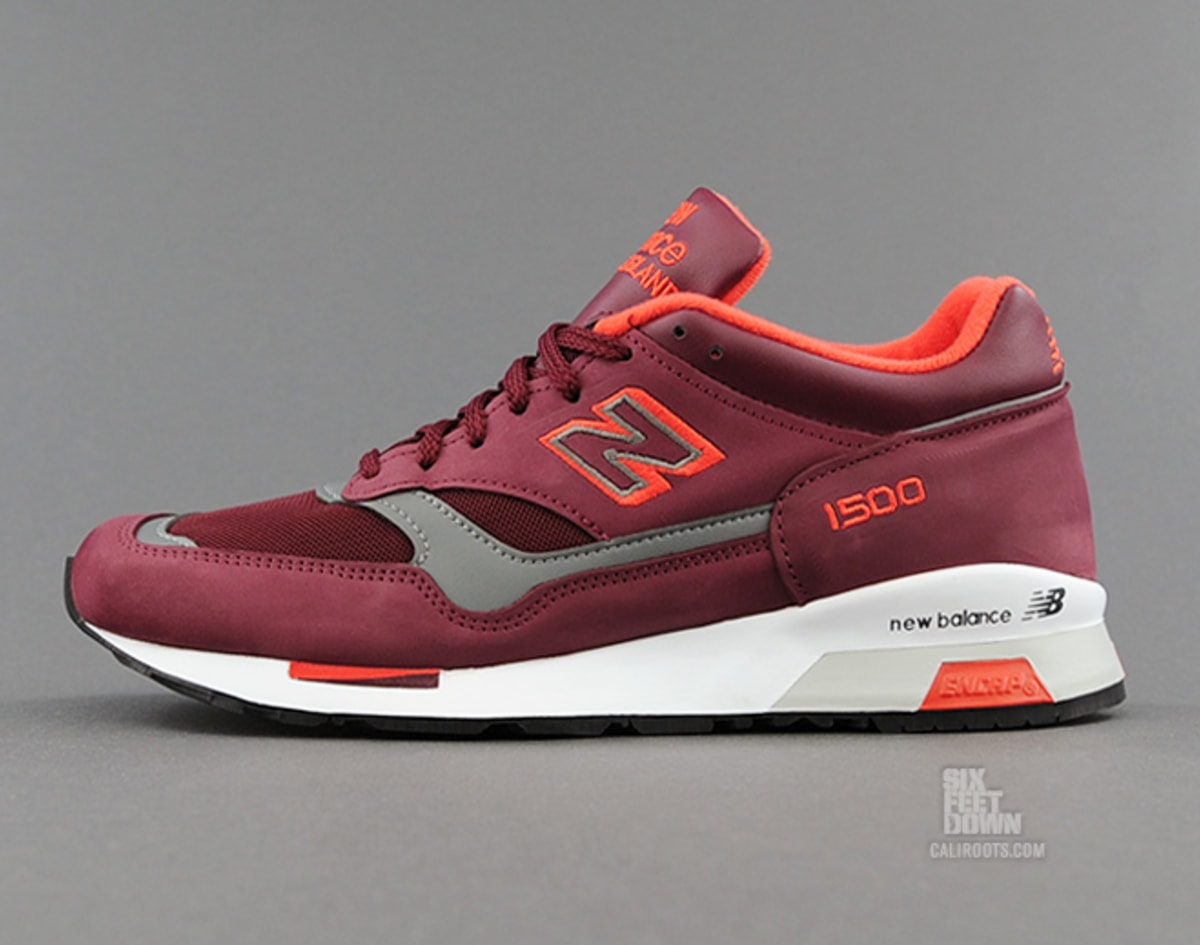 new balance 1500 burgundy orange complex. Black Bedroom Furniture Sets. Home Design Ideas