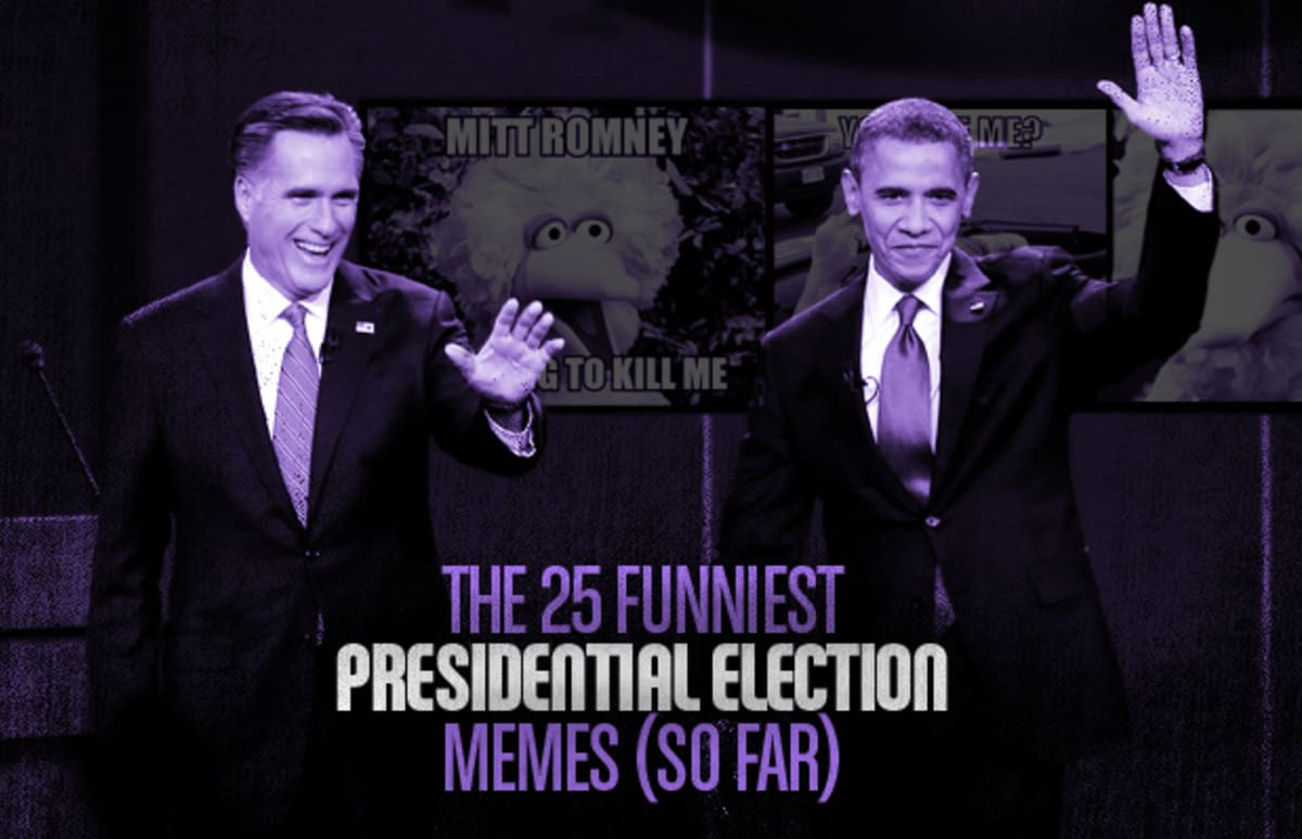 The 25 funniest election memes so far