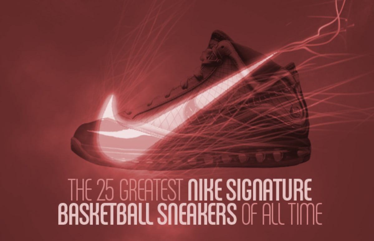 The 25 Greatest Nike Signature Basketball Sneakers Of All Time Complex
