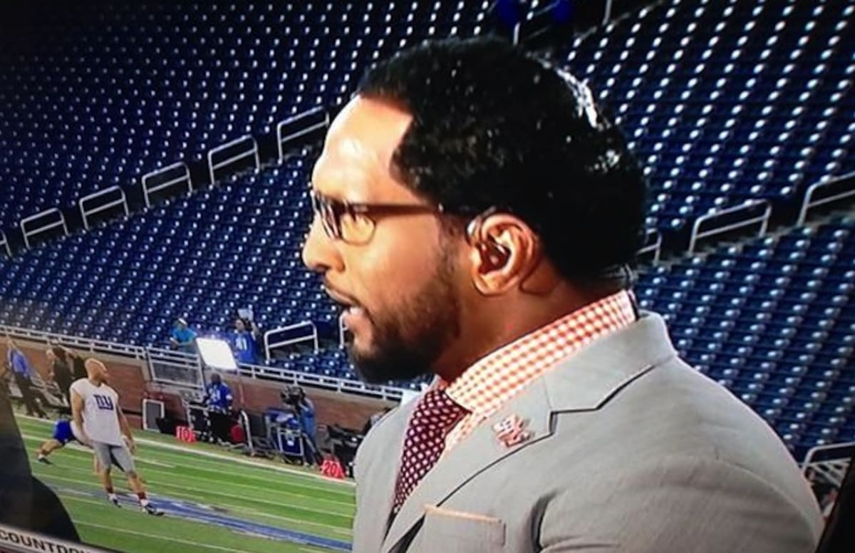 Ray Lewis Interesting Hairstyle Complex