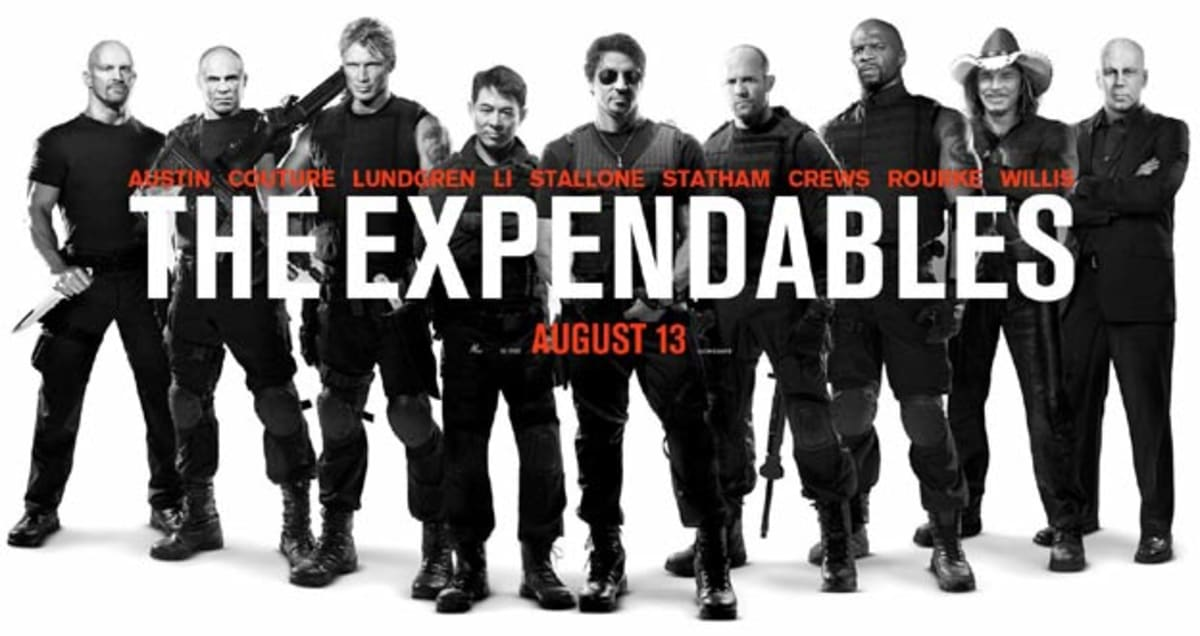 Which Action Star Has The Best One Liner In The Expendables Complex