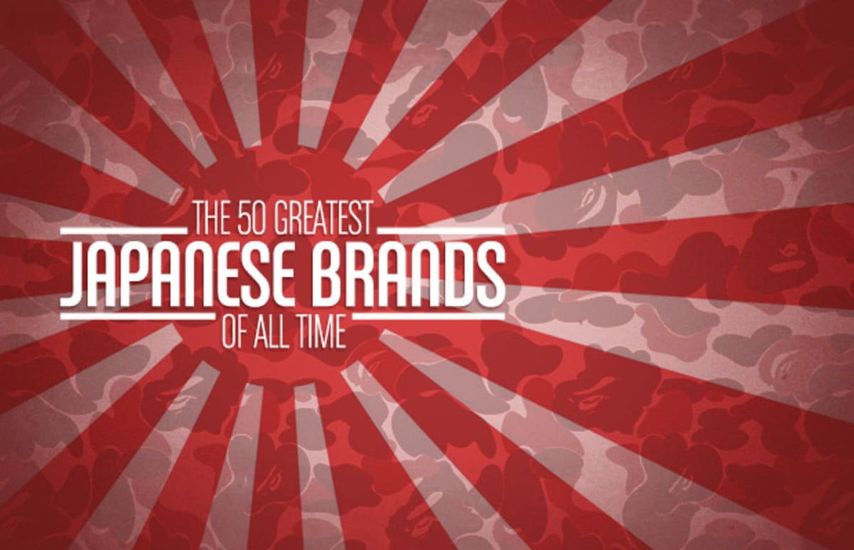 The 50 Greatest Japanese Brands Of All Time Complex