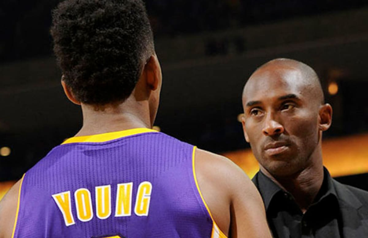 Kobe Bryant Refused to Sign Nick Young's adidas Sneakers and Threw Them in the Trash