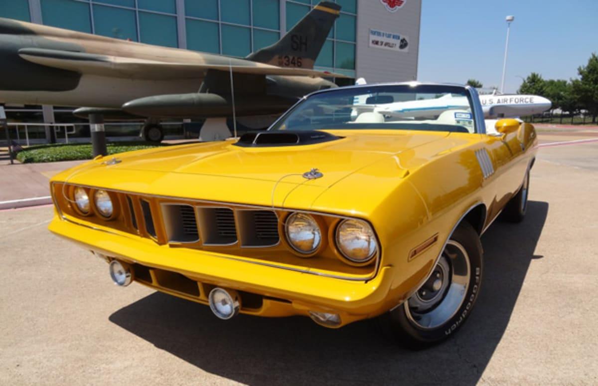 Gallery: Nash Bridges\' 1970 Plymouth Barracuda Hemi Convertible ...