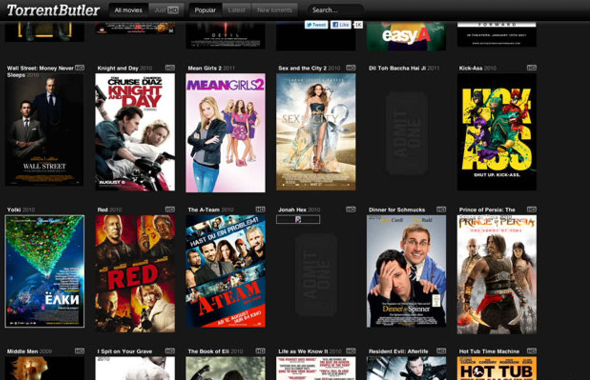 bittorrent sites for ing movies