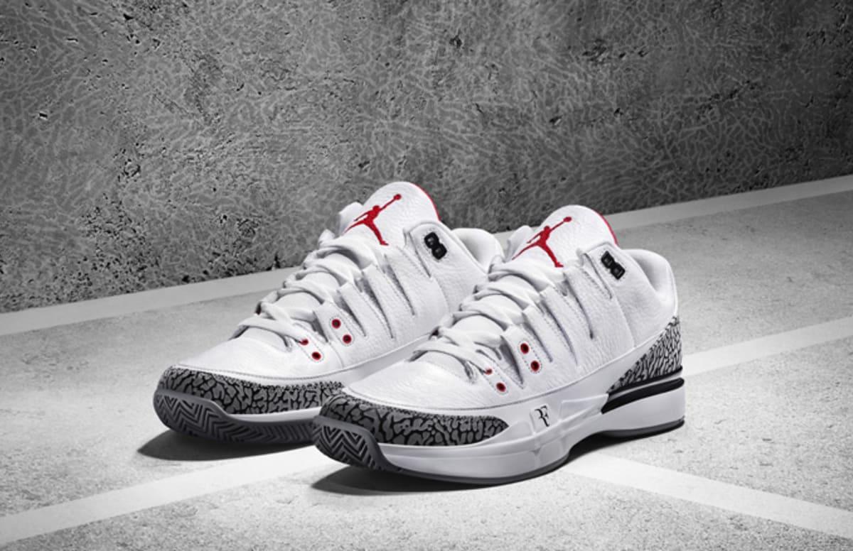 "Nike Officially Unveils Roger Federer's Zoom Vapor ""AJ3"""