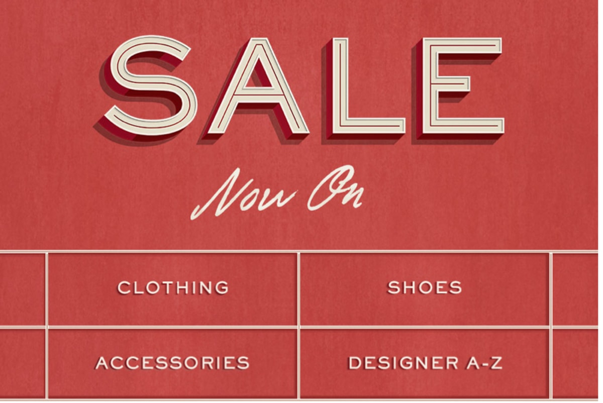 Mr porter is offering items up to 50 percent off complex - When does the mr porter sale start ...