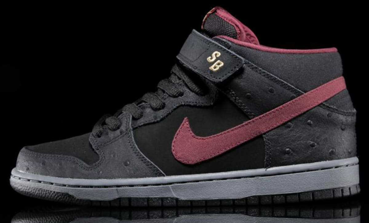 save off 81594 11ede ... spain nike sb dunk mid pro cherrywood red complex 202ea 30167