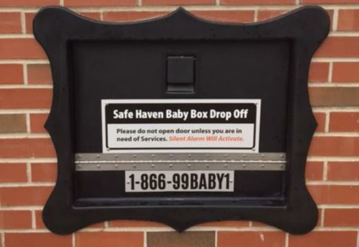 First U S Baby Drop Off Box For Unwanted Babies Installed
