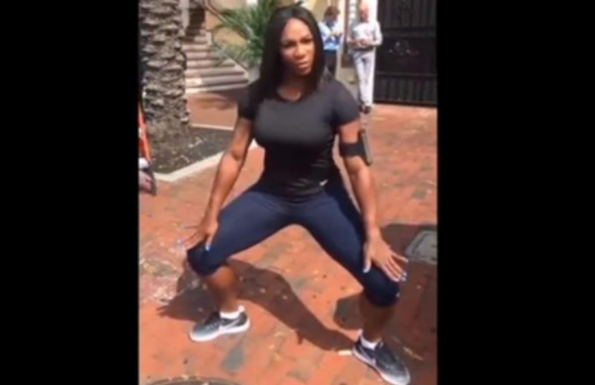 Serena williams twerking 1 - 3 part 4