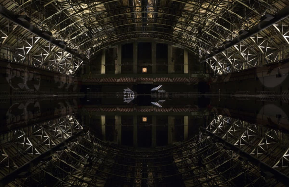An Artist And A Pianist Have Flooded A Historical Building