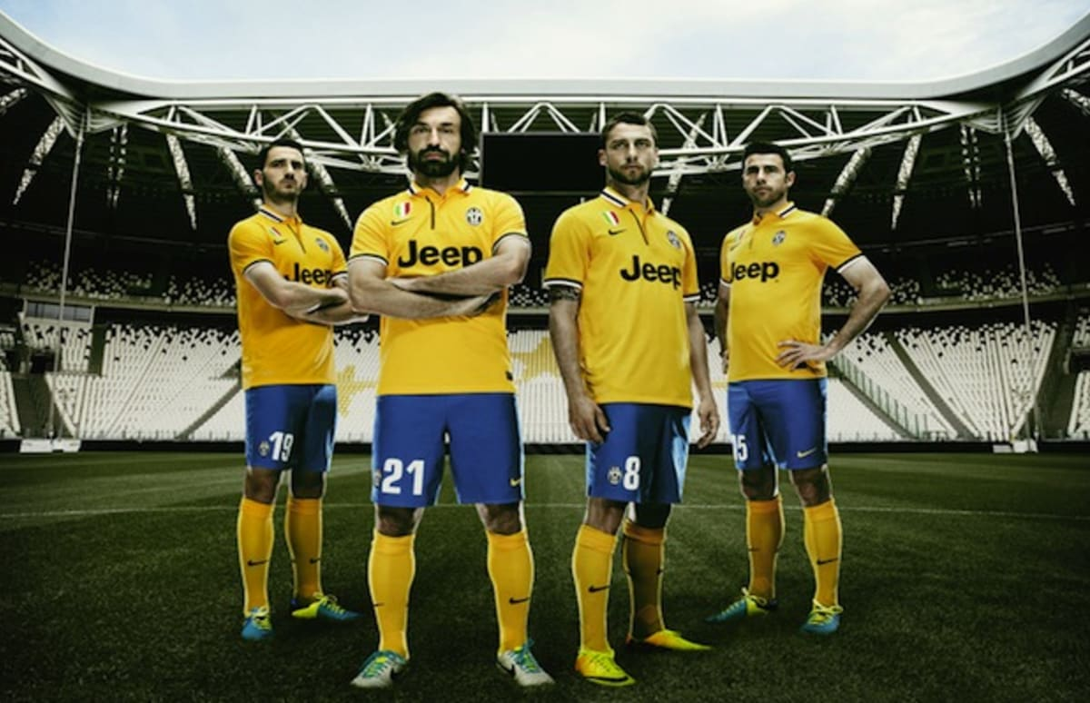 Juventus kit 2014