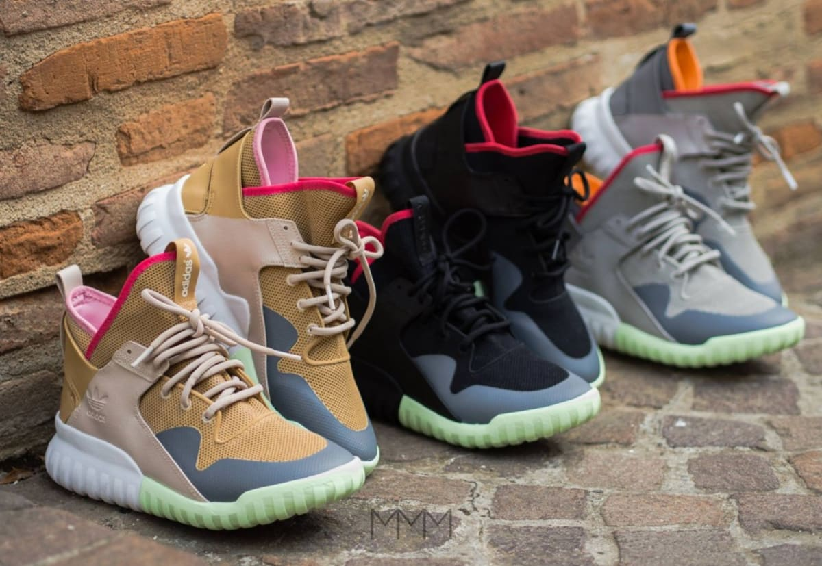 Tubular X Glow in the Dark Shoes Cheap Adidas