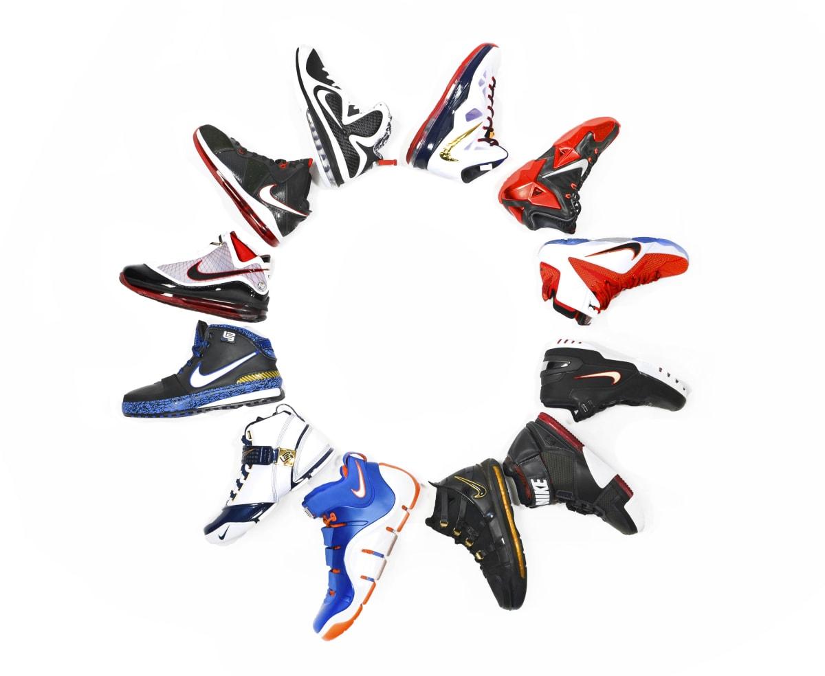 brand new 4b6df c6cfd LeBron James Nike Signature Sneaker History   Complex