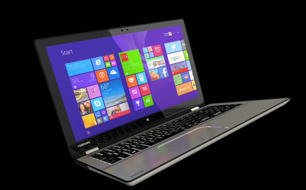 The Toshiba Satellite Radius is Five Devices in One