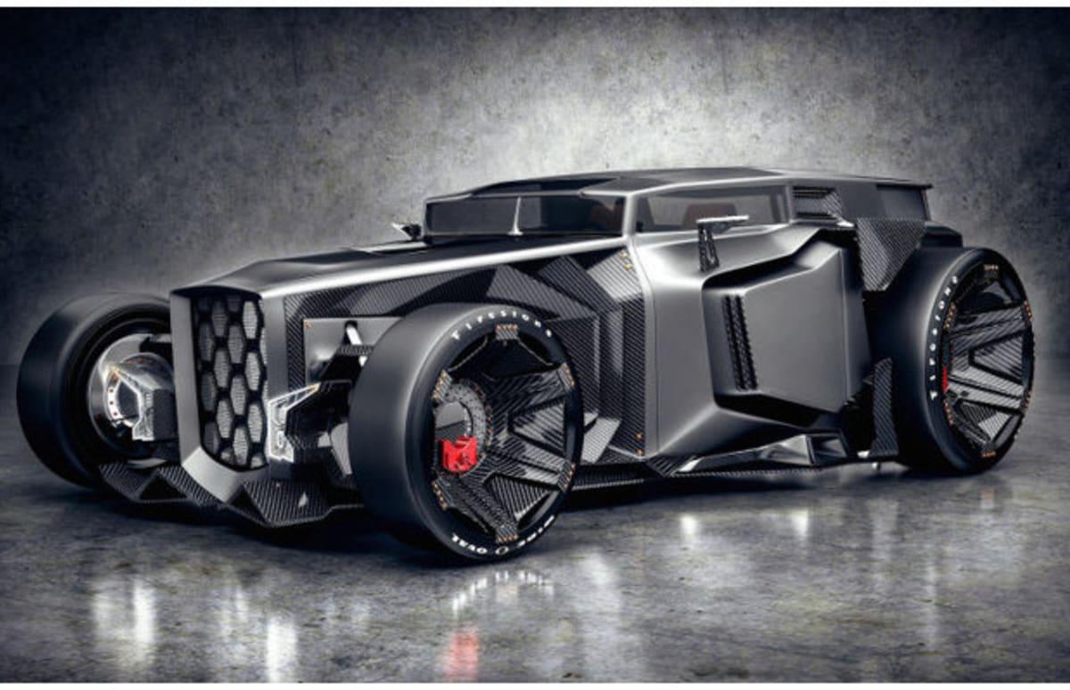 This Is The Carbon Fiber Rat Rod That Lamborghini Would Never Make But Should Complex