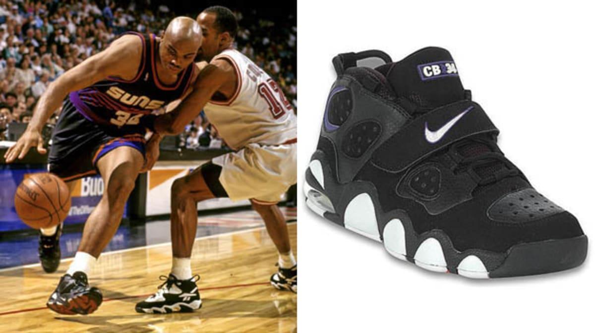 All White Charles Barkley Shoes