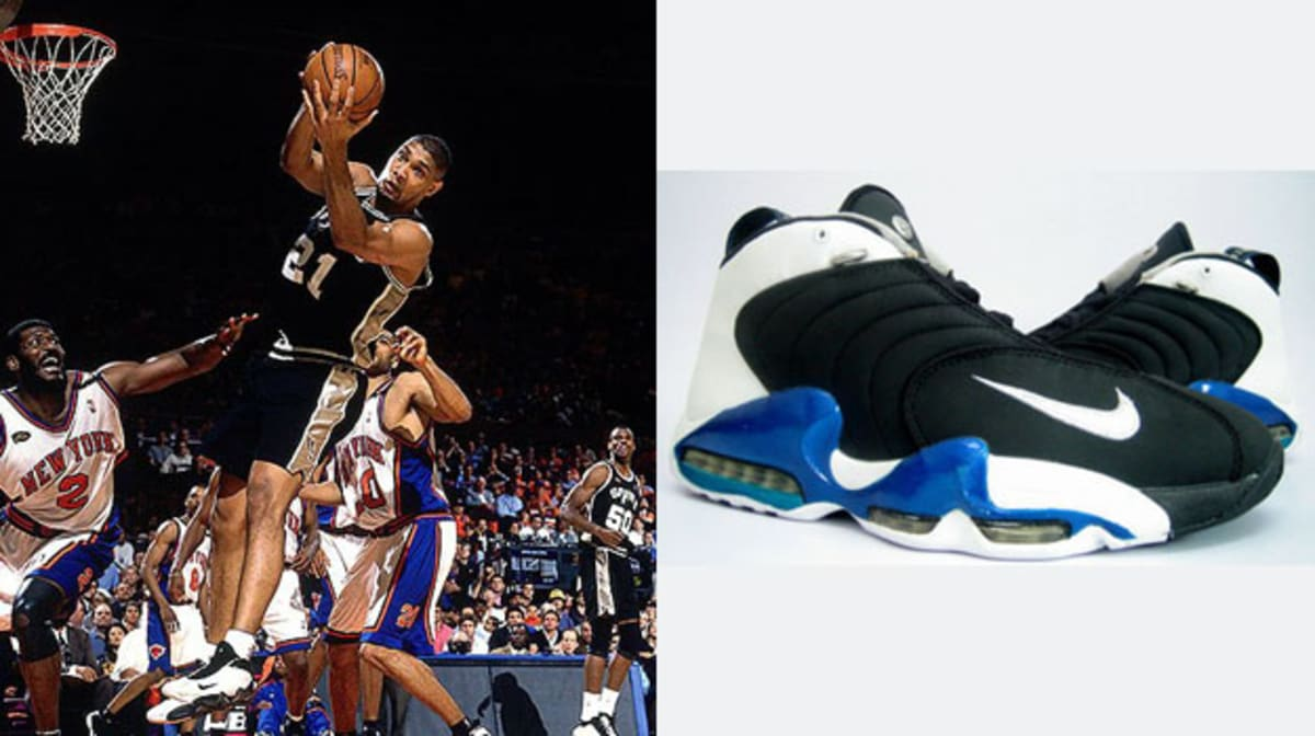 Today in Performance Sneaker History Tim Duncan Wins First NBA