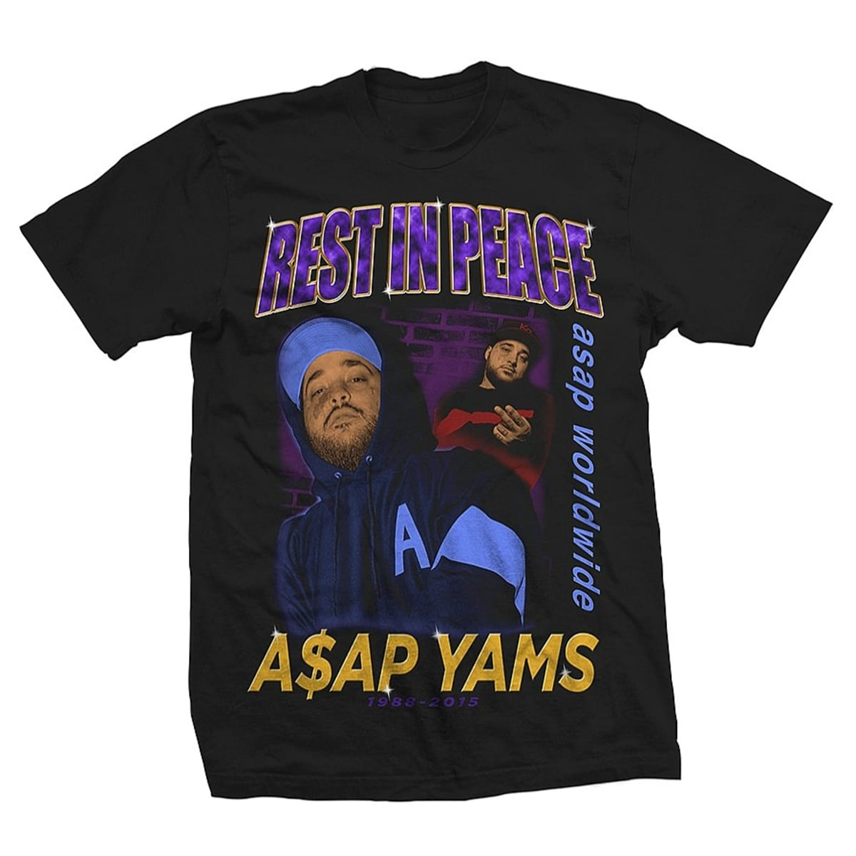 A$AP Mob Selling A$AP Yams T-Shirt | Complex