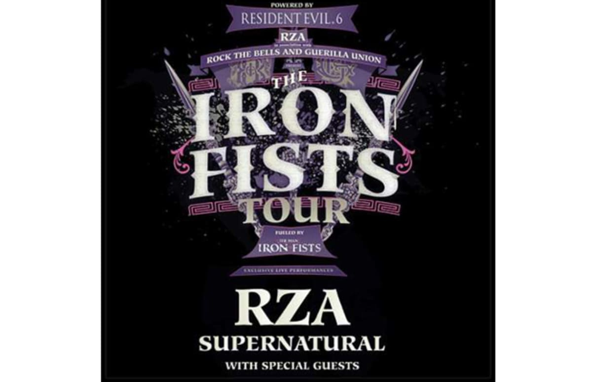 """Join RZA For The Grand Finale Of """"The Man With The Iron ..."""