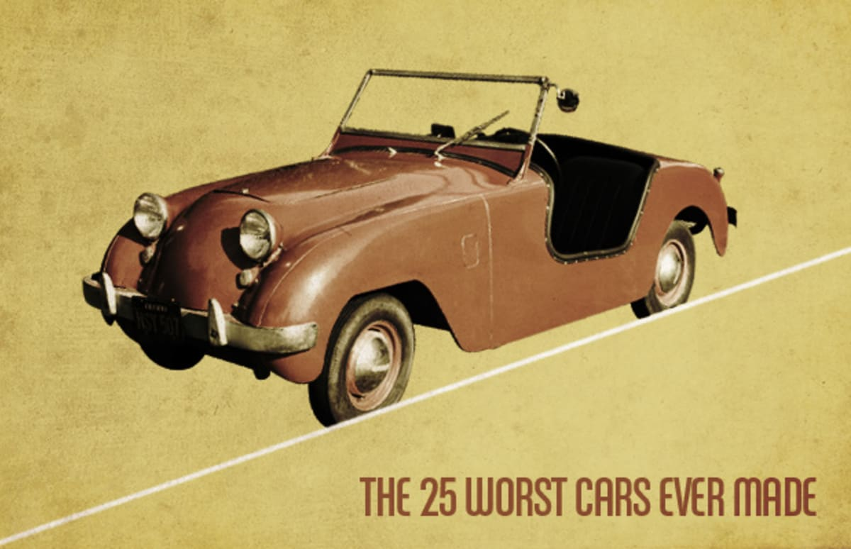 Gallery: The 25 Worst Cars Ever Made | Complex