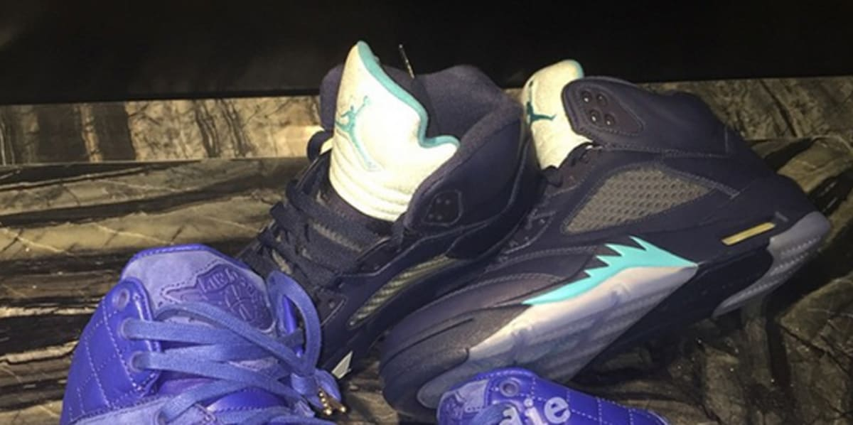 A Never-Before-Seen Air Jordan V Just Leaked