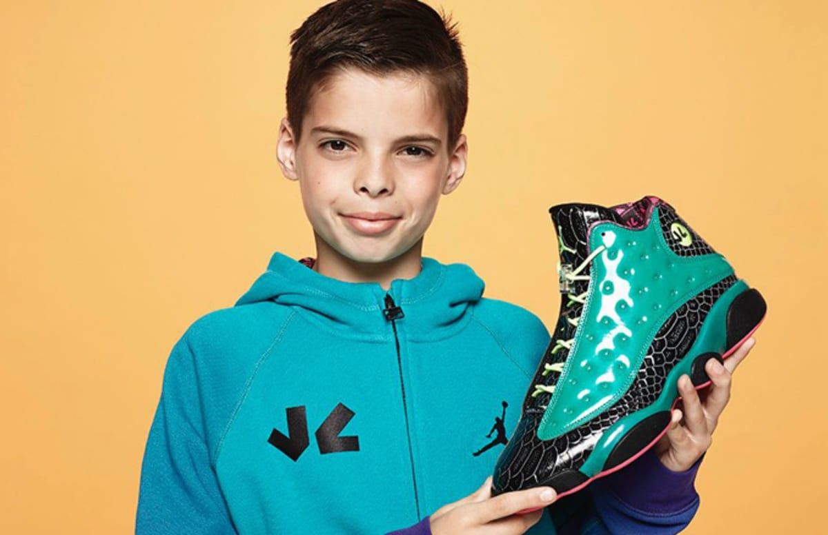 94142df1704d The Designer of the Doernbecher Air Jordan 13 Says It was Overwhelming to  Make the Shoes