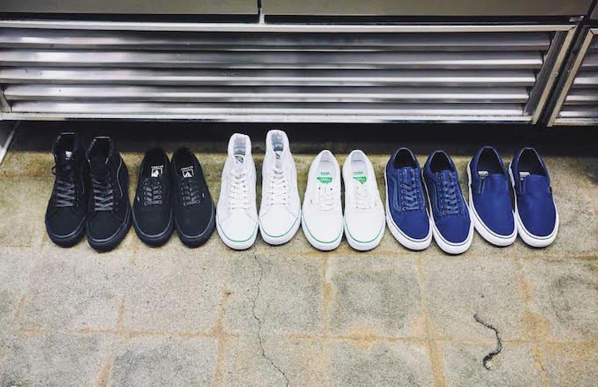 vans kitchen shoe program collaboration | complex