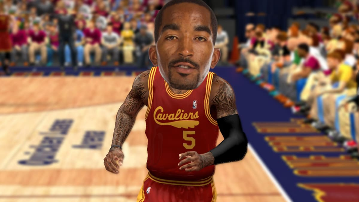 J.R. Smith Says He Got His Fadeaway Three-Pointer From 'NBA 2K'