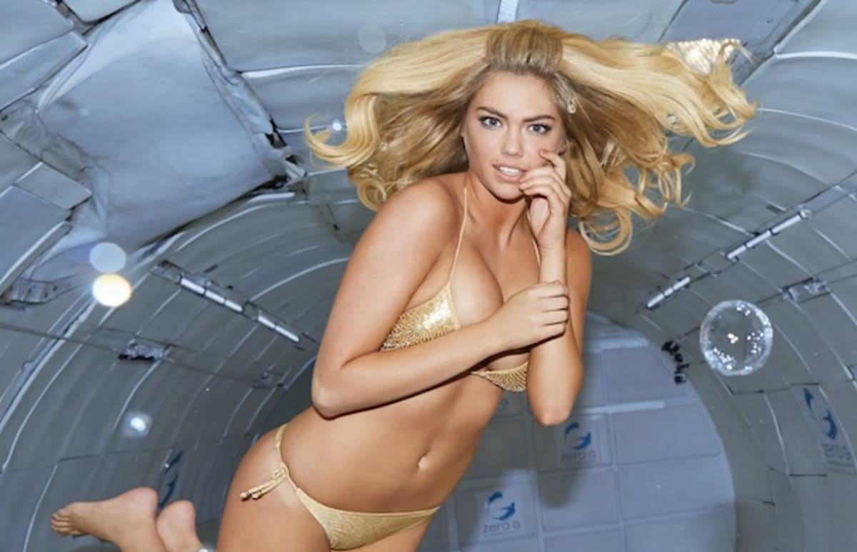 Kate upton zero gravity - 1 part 3