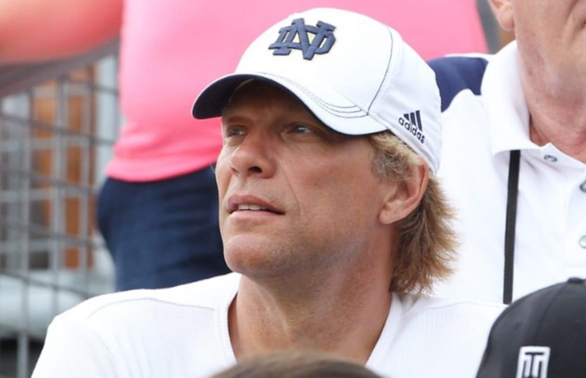 Jon Bon Jovi's Son Jesse Bongiovi Plays for the Notre Dame ...