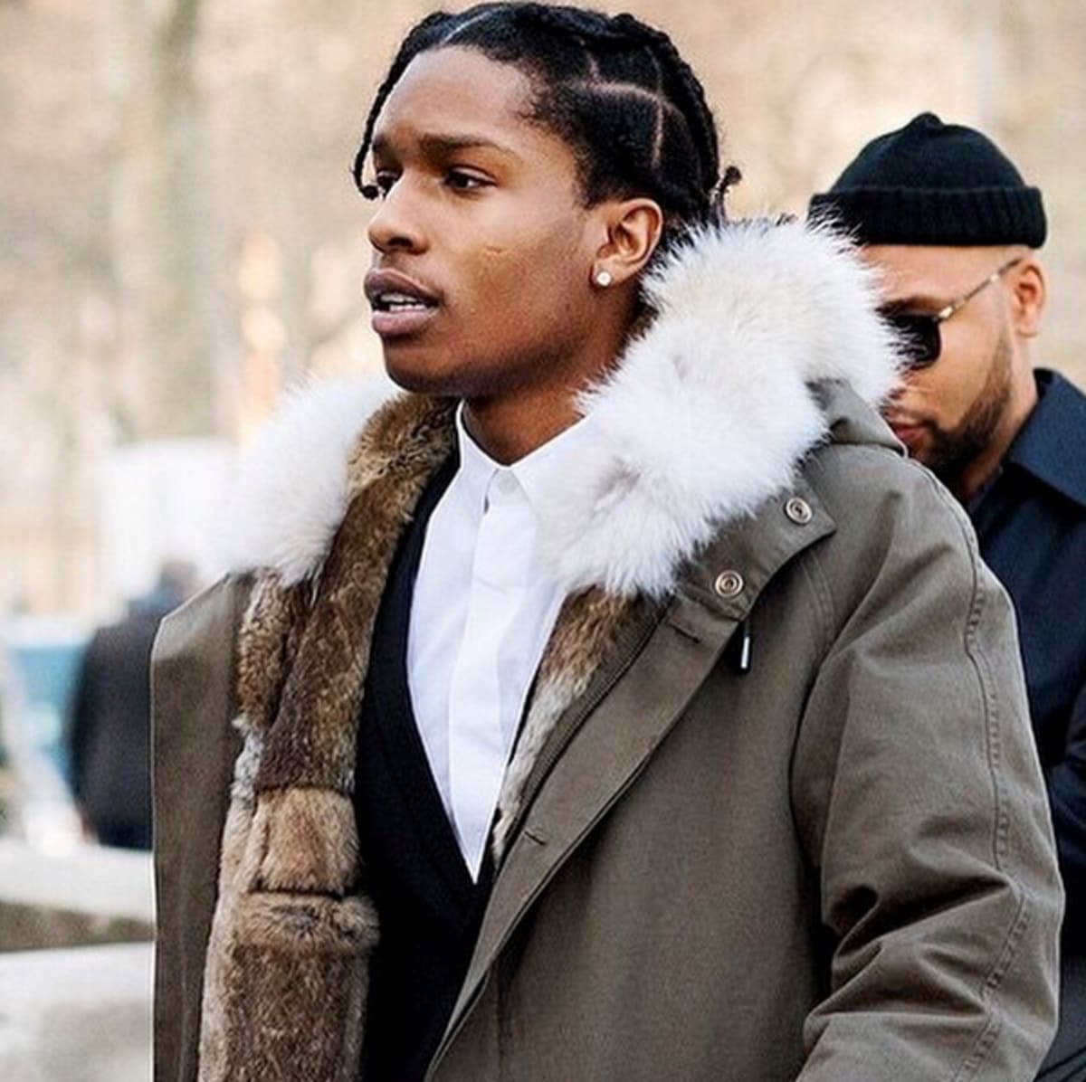 """West Else: A$AP Rocky On Kanye West's Style Influence: """"When I Was"""