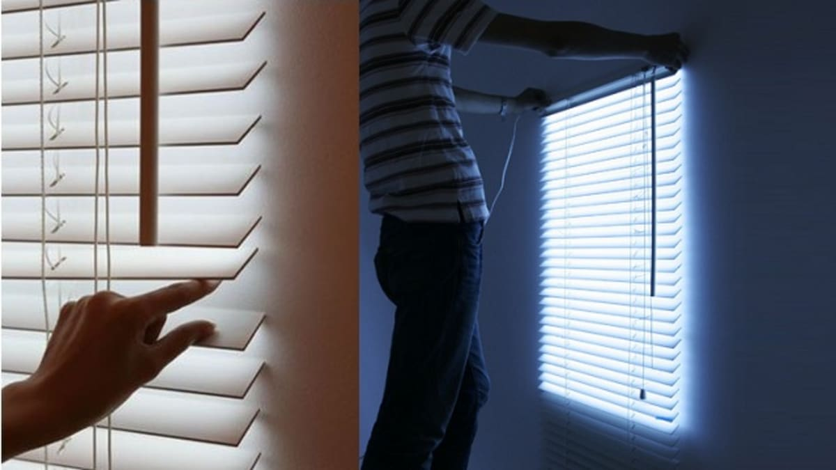 These Illuminated Blinds Are Tailor Made For The