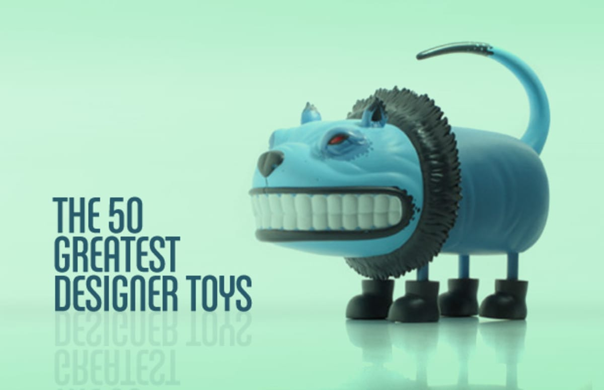 The 50 Greatest Designer Toys Complex
