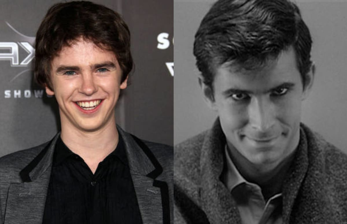 Freddie highmore to play norman bates in a e s psycho for Freddie highmore movies and tv shows
